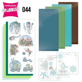 Sparkles Set 44 - Yvonne Creations - Wintertime - Ski SPDO044