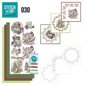 Stitch and Do 30 - Celebrations STDO030