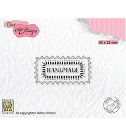 Nellie clearstamp DTCS030 - Texts Handmade