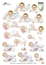 3D Knipvel - Helga Martare - Baby - CD10295