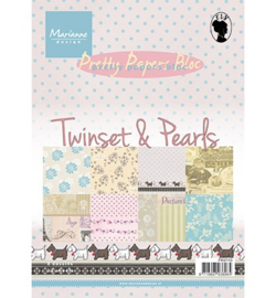 Pretty Paper bloc Twinset & pearls PK9110