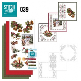 Stitch and Do 39 - Christmas Greetings STDO039