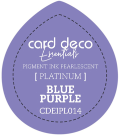 Card Deco Essentials Fast-Drying Pigment Ink Pearlescent Blue Purple CDEIPL014
