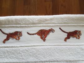 Handdoek tijgers