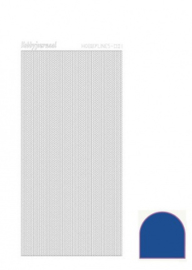 Hobbylines 001 sticker - Mirror Blue HLM01A