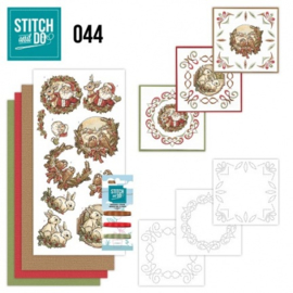 Stitch and Do 44 - Holly Jolly mix STDO044