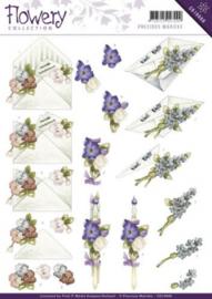 3D Knipvel - Precious Marieke - Flowery - Flower gift CD10668