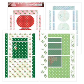 Printed Figurg Cards - Jeanine's Art - Lovely Christmas JAFC10002