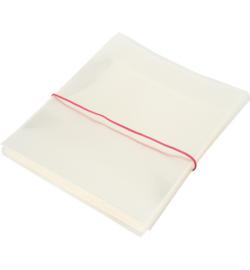 100 stuks transparante kaarten zakjes 14.5 x 14.2 x 3cm