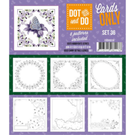 Dot and Do - Cards Only - Set 36  CODO036