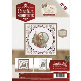 Creative Hobbydots 18 - Have a Mice Christmas CH10018