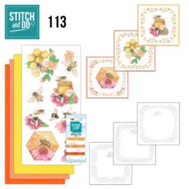 Stitch and Do 113 Honey Bees  STDO113
