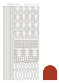 Hobby dots sticker Christmas Red 003 STD03H