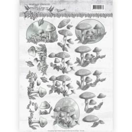 3D knipvel - Amy Design - Words of Sympathy - Sympathy Forest CD11182
