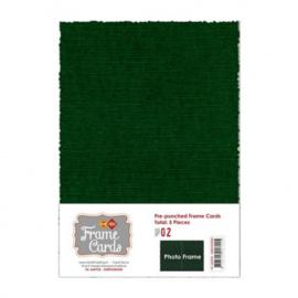 Frame Cards - A5 - Kerst groen FC-A5PF23