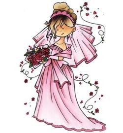 Stempel Snoesjes Here comes de bride HM9461