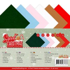 Linnenpakket - 4K - Yvonne Creations - Sweet Christmas YC-4K-10017
