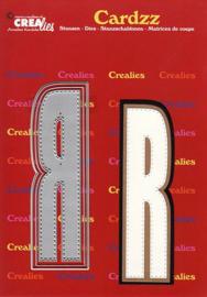 Crealies Cardzz letters letter R CLCZ418 max. 13 cm