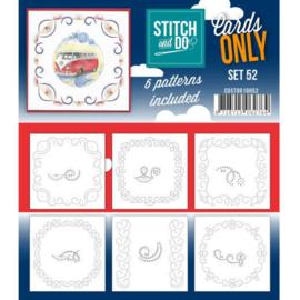 Cards only Stitch 52 - 4k -  COSTDO10052