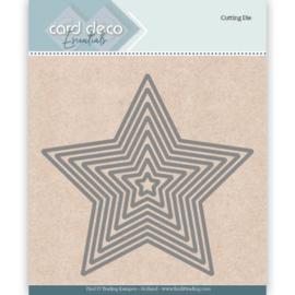 Card Deco Essentials Cutting Dies Star CDECD0025