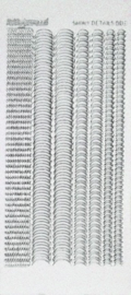 Shiny Details - Scallop - 003 - zilver SDS003TZ
