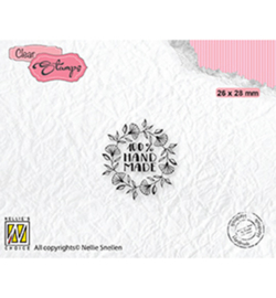 Nellie clearstamp DTCS032 - Text 100% Handmade