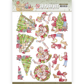 3D Push Out - Yvonne Creations - The Heart of Christmas - Celebrations SB10596
