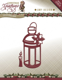 Die - Amy Design - Christmas Greetings - Lantern ADD10070