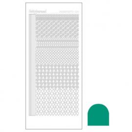 Hobby dots sticker Mirror Emerald 019 STDM19I