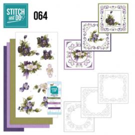 Stitch and Do 64 - The nature of christmas STDO064