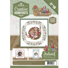 Creative Hobbydots 19 - Yvonne Creations - The Heart of Christmas CH10019