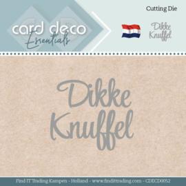 Card Deco Essentials - Dies - Dikke Knuffel CDECD0052