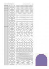 Hobbydots sticker Mirror Violet 011 STDM116