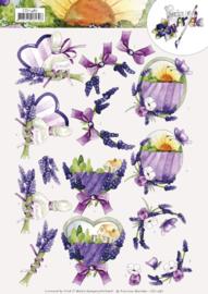 3D Cutting Sheet - Precious Marieke - Lavender CD11487