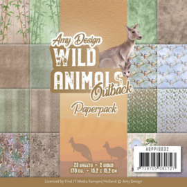 Paperpack - Amy Design - Wild Animals Outback  ADPP10032