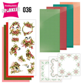 Sparkles Set 36 -  Precious Marieke - A Touch of Christmas - Birds SPDO036