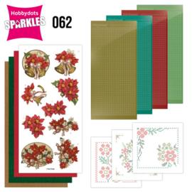Sparkles Set 62 - Amy Design - Poinsettia SPDO062