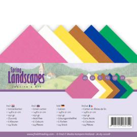 Linnenpakket - A5 - Jeanines Art - Spring Landscapes JA-A5-10008