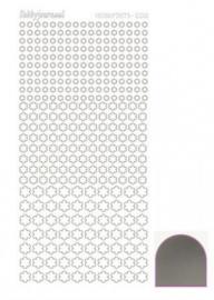 Hobbydots sticker Mirror Silver 008 STDM088