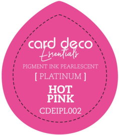 Card Deco Essentials Fast-Drying Pigment Ink Pearlescent Hot Pink CDEIPL002