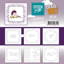 Stitch and Do - Cards Only Stitch 4K - 75 COSTDO10075