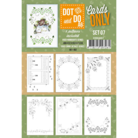 Dot and Do - Cards Only - Set 07 CODOA607