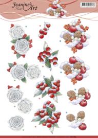 3D Knipvel - Jeanine's Art - Winter CD11184