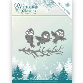 Die - Jeanine's Art - Christmas Classics - Winter birds JAD10027