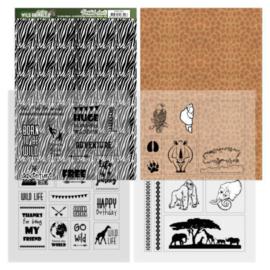 Sheets Zebra - Amy Design - Wild Animals 2 ADMC1002