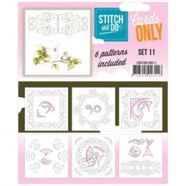 Stitch & Do - Cards Only - Set 11 COSTDO10011