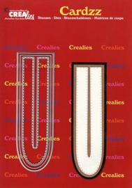 Crealies Cardzz letters letter U CLCZ421 max. 13 cm