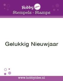 Stempel Gelukkig Nieuwjaar hi-stamp-0041