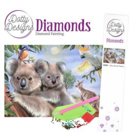 Dotty Designs Diamonds - Wild Animals Outback  DDD1015