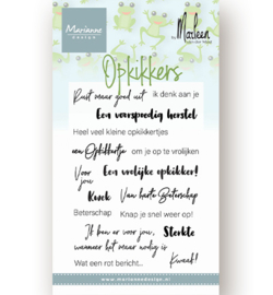 MD CS1065 - Clear Stamps - Opkikkers by Marleen